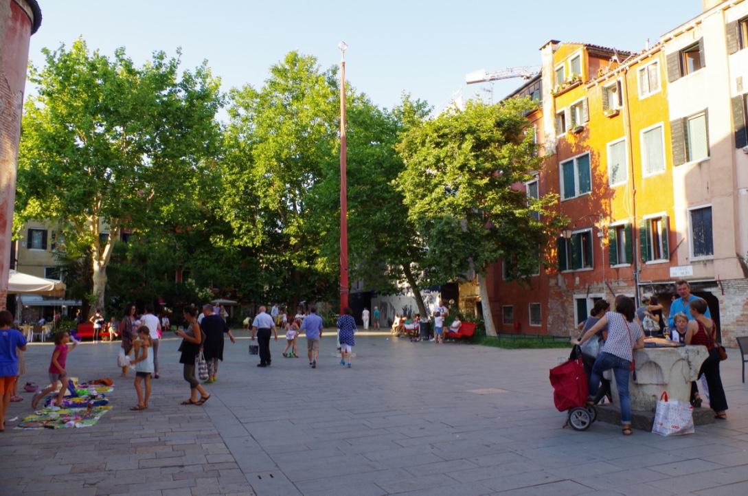 Same secret square in Venice 2017