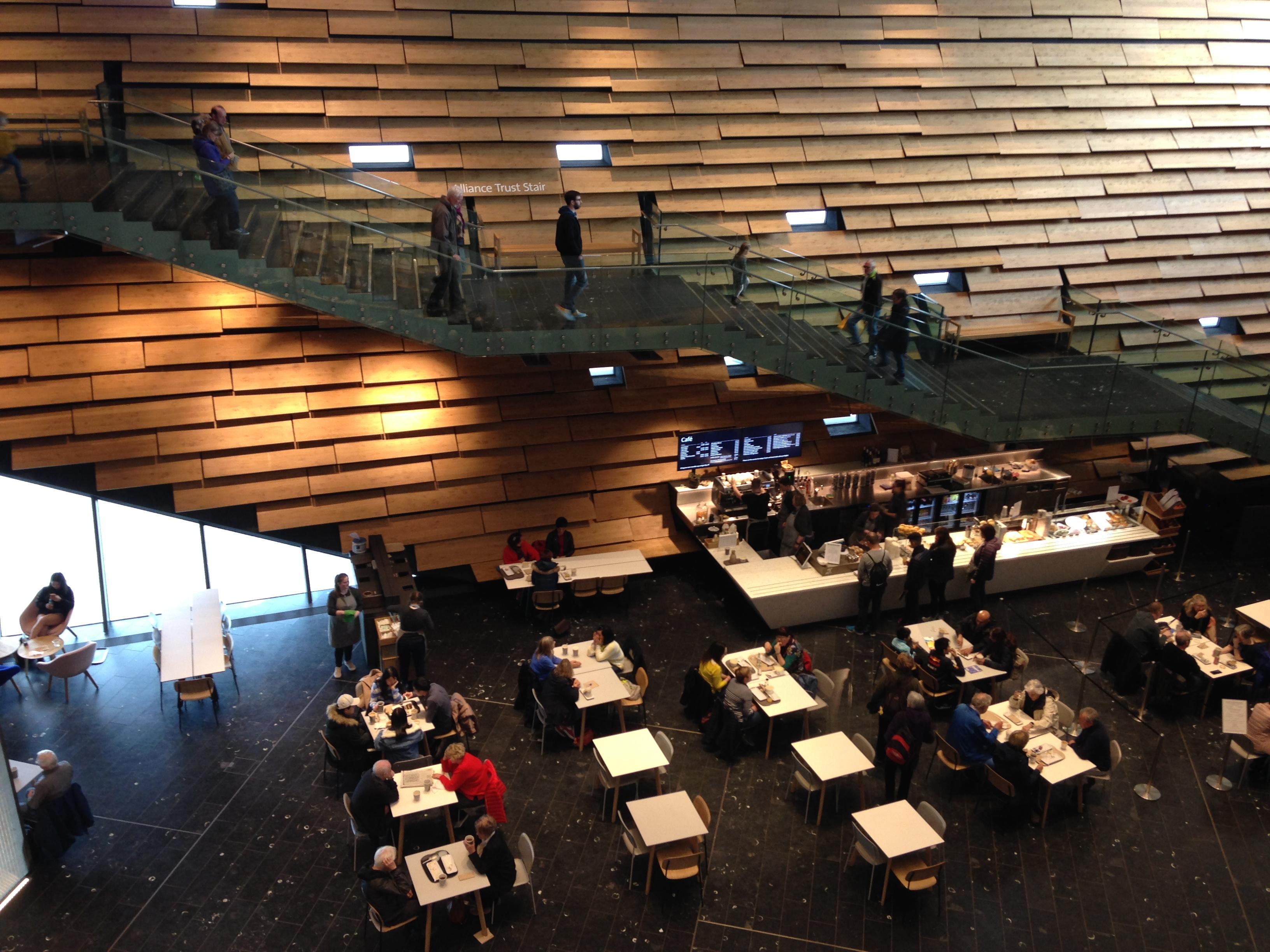 V&A Dundee atrium